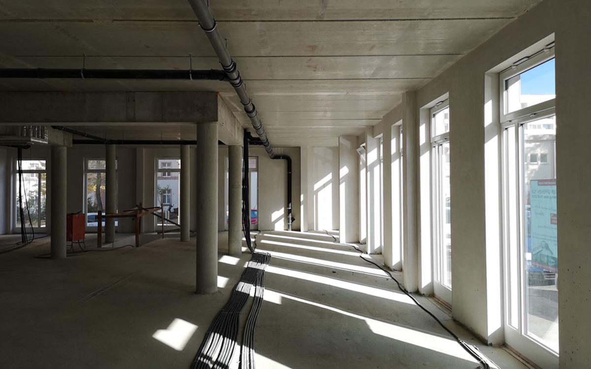 Innenausbau - neues Büro